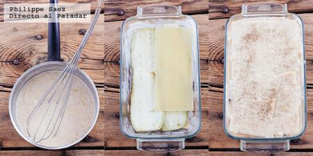 Lasaña de berenjenas. Receta fácil de pasta sin carne