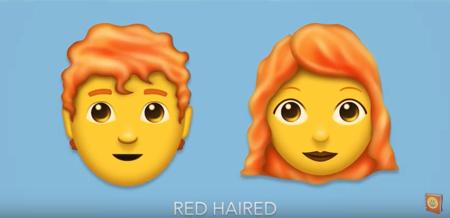 Los pelirrojos al fin tendrán sus propios emojis: la lista se amplia con 157 nuevos iconos que llegarán este verano