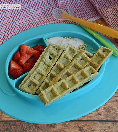 Receta Facil Ideas Lunch Saludables Regreso A Clases Waffles Calabacita Especias