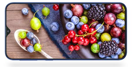 Samsung Galaxy M Pantalla