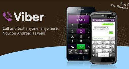 Viber sale para Android, o cómo llamar y enviar mensajes sin pagar un centavo