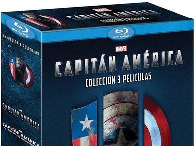 Trilogía Capitán América, en Blu-ray, por sólo 11,99 euros