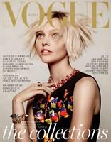 Vogue Korea: Sasha Pivovarova