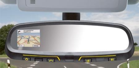 MirrorPilot, navegador GPS en el retrovisor