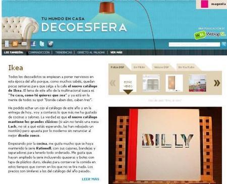 Más novedades en Decoesfera: toda la información sobre tus marcas favoritas