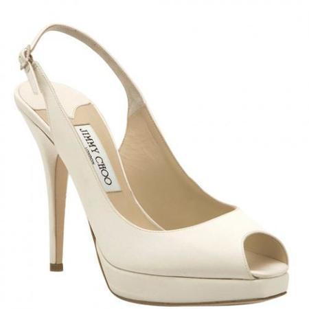 Zapatos de novia de Jimmy Choo: Sí, quiero