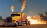 El camión más rápido del mundo con motor de jet de 36.000 caballos