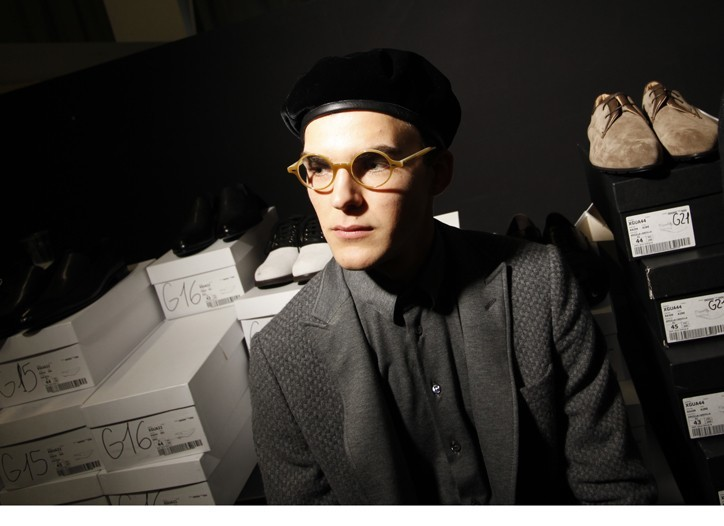 Foto de En el backstage de Giorgio Armani, Otoño-Invierno 2010/2011 (1/5)