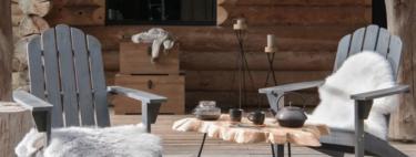 19 complementos textiles y de iluminación, para terrazas de invierno, en las rebajas de Maisons du Monde