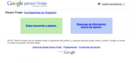 Google se solidariza y activa buscador de desaparecidos en Acapulco