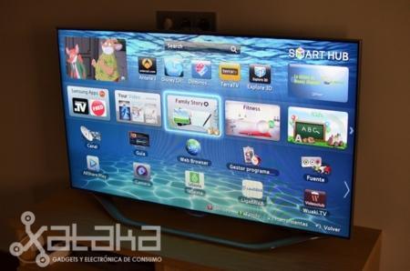 Samsung Smart HUb pantalla principal