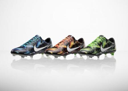 Los nuevos Nike Mercurial Vapor IX Tropical Pack: pasión mundialista.