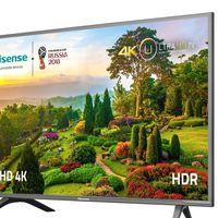 Smart TV de 55 pulgadas Hisense H55N5705, con resolución 4K, por sólo 510 euros y envío gratis