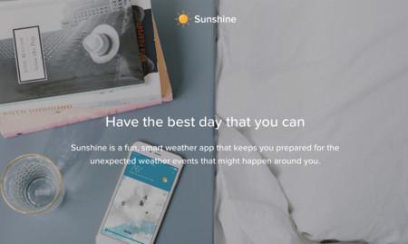 Sunshine, la popular aplicación de clima para iOS inicia su beta para Android