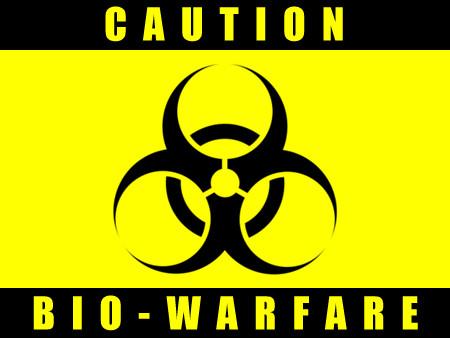 Caution Biowarfare