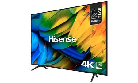 65 pulgadas nunca salieron tan baratas: MediaMarkt te deja la smart TV Hisense H65B7100 por sólo 399 euros