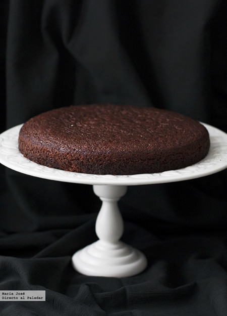 como hacer bizcocho de chocolate esponjoso