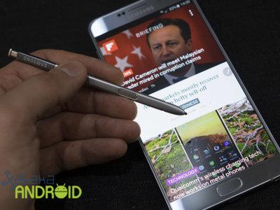 Samsung Galaxy Note 5 y su actualización a Android 6.0 ya se prueban en USA, de momento en fase beta