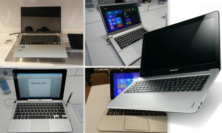 Los fabricantes de portátiles apuestan por la innovación y la originalidad para competir contra el MacBook Air