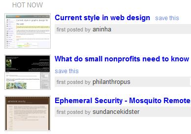 Del.icio.us, ahora con miniaturas de las webs
