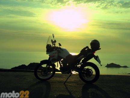 Las vacaciones de Moto 22, Cap de Creus-Barbastro