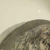 Curiosity se toma su primera 'selfie panorámica' en Marte