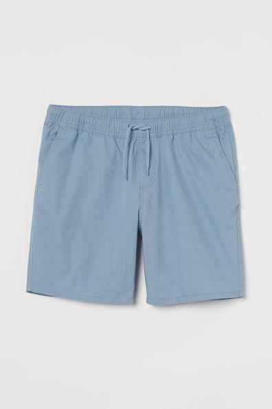 Pantalón corto en algodón Regular Fit