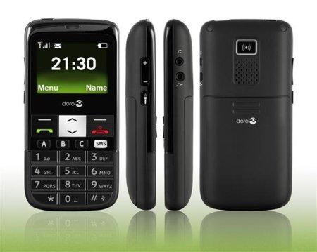Doro PhoneEasy 332gsm, mensajes de texto fáciles para los más mayores