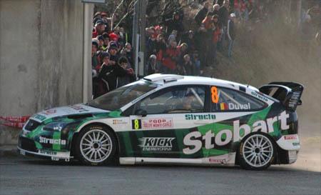François Duval volverá en el Rally de Gales