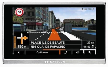 Navigon 8410 incorpora funcionalidades multimedia al navegador