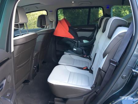 Renault Espace Prueba segunda fila de asientos