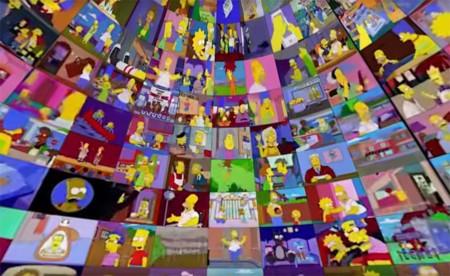 'Los Simpson' te destrozará la cabeza viendo 500 episodios al mismo tiempo, la imagen de la semana