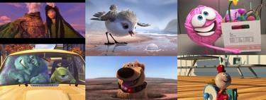 Pixar: todos los cortometrajes de Disney + clasificados de peor a mejor