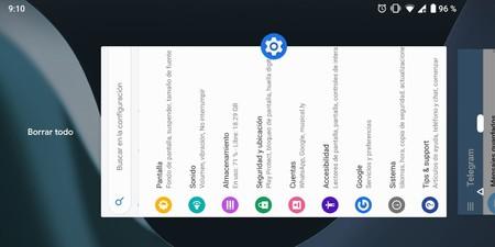 Android P Beta 2 por fin nos deja cerrar todas las apps abiertas de golpe: vuelve el botón 'Borrar todo'