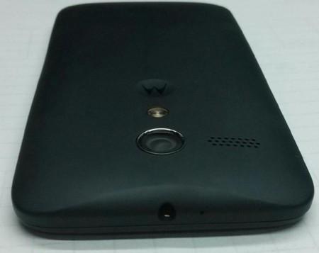 La trasera del Motorola Moto X y detalles de su promoción