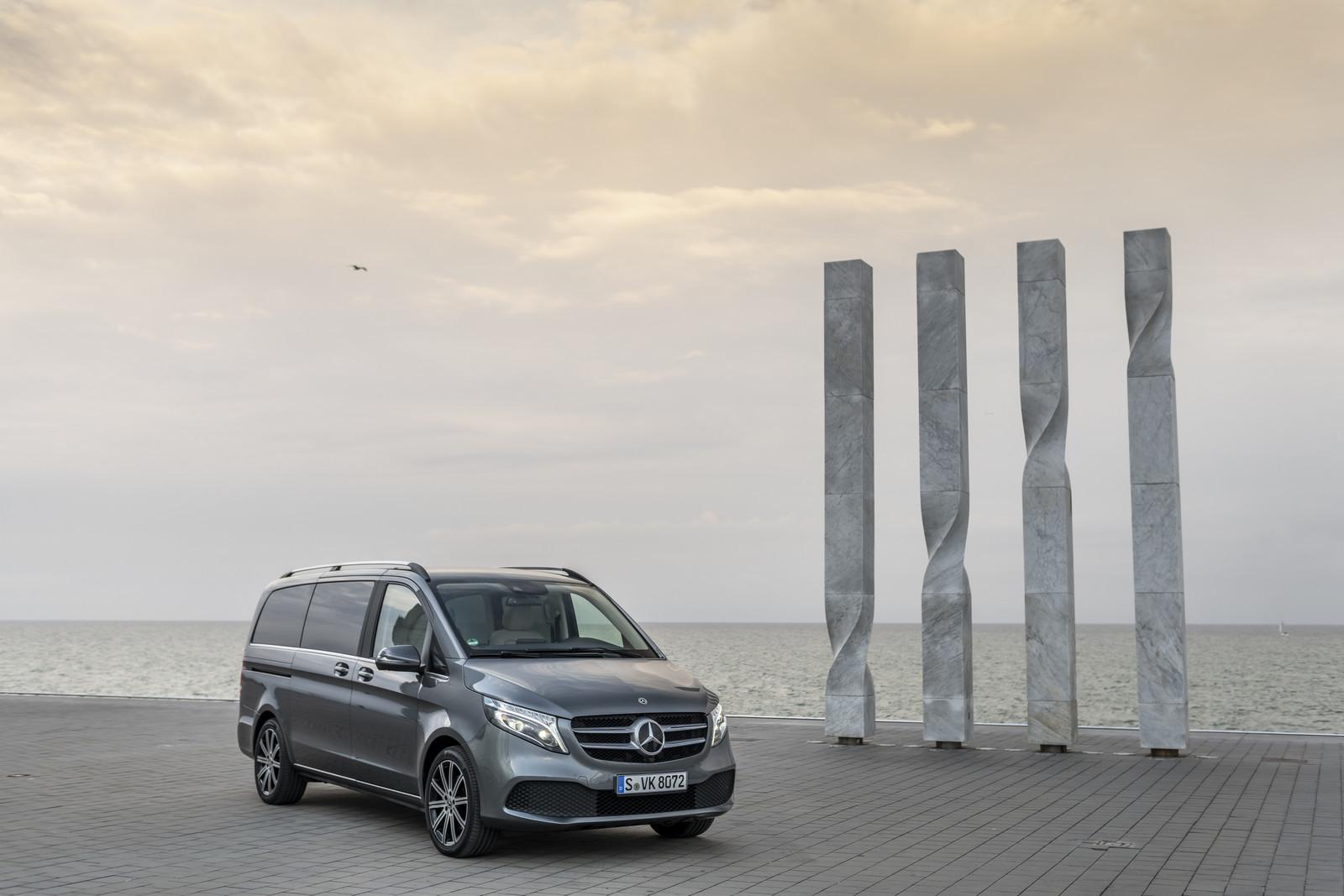 Foto de Mercedes-Benz Clase V 2019 (38/92)