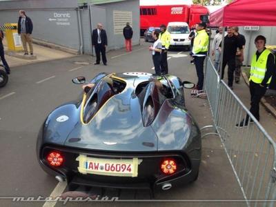 Exclusiva: primeras imágenes del Aston Martin centenario