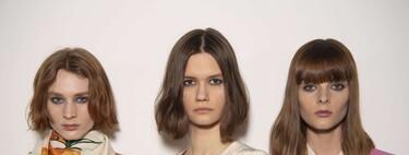 Con clara inspiración en los años 90: así han sido las melenas y peinados del desfile de Victoria Beckham