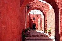 El Monasterio de Santa Catalina, en Arequipa