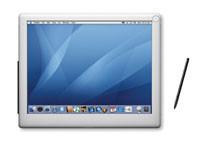 """¿Lanzamiento de un """"Tablet"""" Mac con dock en el 2007?"""