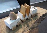 Un tren para servir el desayuno
