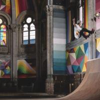 ¿Cómo recuperar una iglesia abandonada? Convirtiéndola en un skatepark