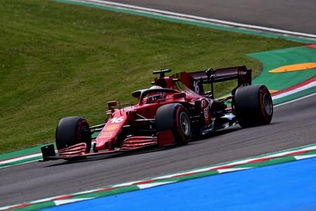 Leclerc Imola F1 2021
