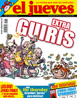 Extra sobre guiris en el Jueves