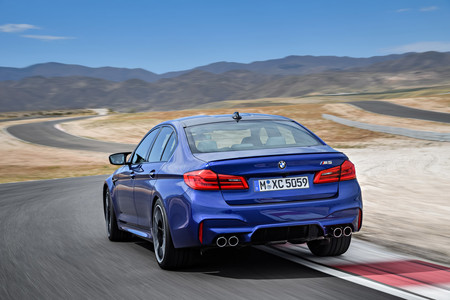 El nuevo BMW M5 ya es oficial, ¡con un V8 biturbo de 600 CV y tracción a las cuatro ruedas!