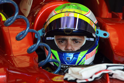 Felipe Massa continúa intratable