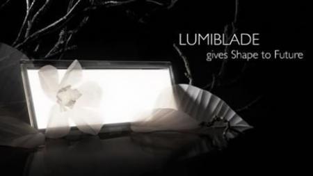 Philips ha presentado sus luces OLED Lumiblade