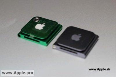 La nueva generacion de iPod nano, ¿integrará cámara?