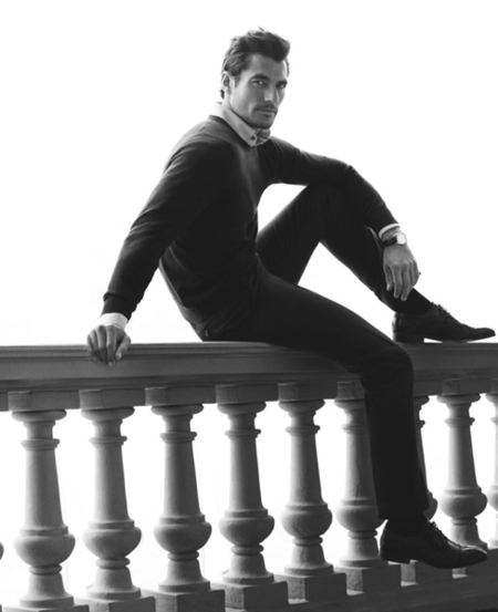 David Gandy: un caballero italiano para Marks & Spencer