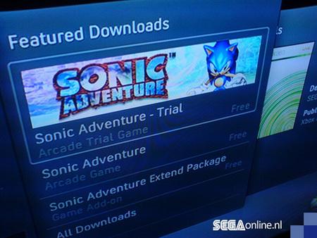 'Sonic Adventure' podría llegar a XBLA